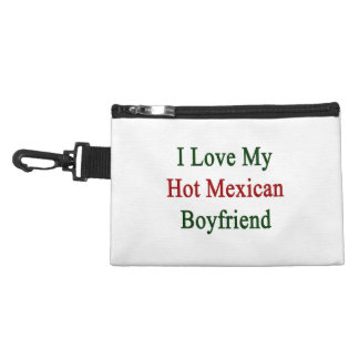 I Love My Hot Mexican Boyfriend Accessory Bag