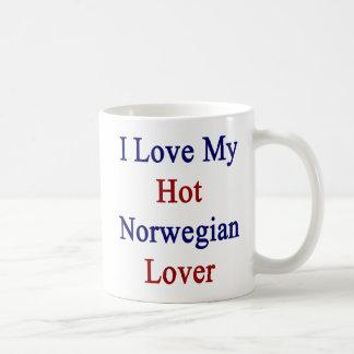 I Love My Hot Norwegian Lover Coffee Mug