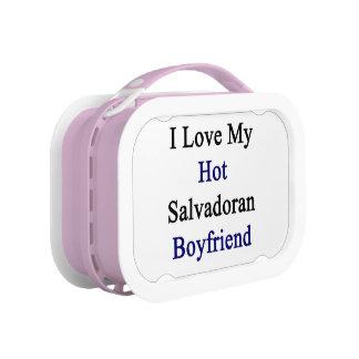 I Love My Hot Salvadoran Boyfriend Lunchbox
