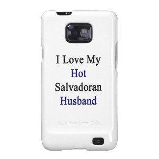I Love My Hot Salvadoran Husband Samsung Galaxy S2 Covers
