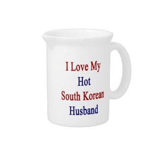 I Love My Hot South Korean Husband Pitchers