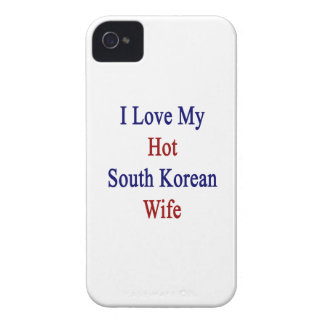 I Love My Hot South Korean Wife iPhone 4 Case