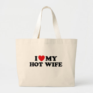 I Love My Hot Wife Canvas Bag