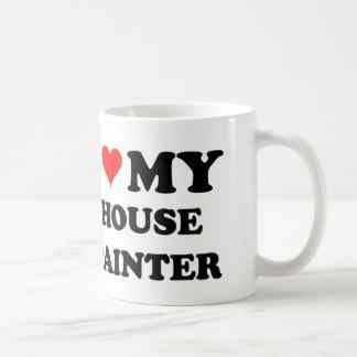 I Love My House Painter Classic White Coffee Mug
