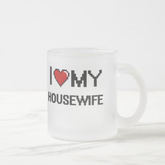 I love my Housewife 10 Oz Frosted Glass Coffee Mug