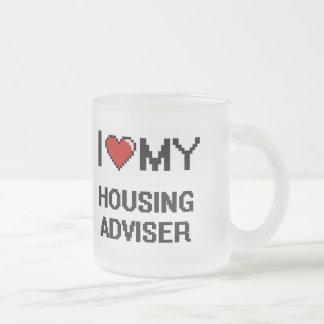 I love my Housing Adviser 10 Oz Frosted Glass Coffee Mug
