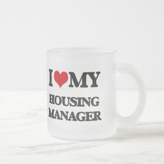 I love my Housing Manager 10 Oz Frosted Glass Coffee Mug