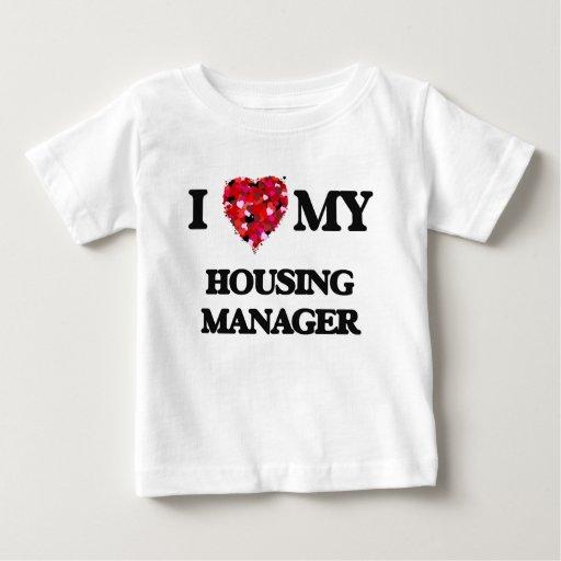 I love my Housing Manager T-shirts T-Shirt, Hoodie, Sweatshirt