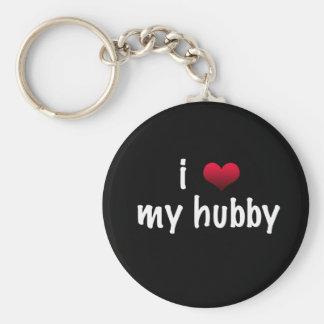 I love my hubby key chains