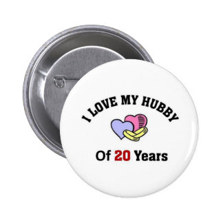 I love my hubby of 20 years button