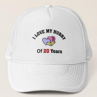 I love my hubby of 20 years trucker hat