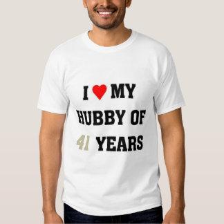 I love my hubby of 41 years tee shirt