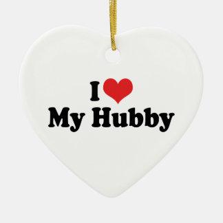 I Love My Hubby Ornament
