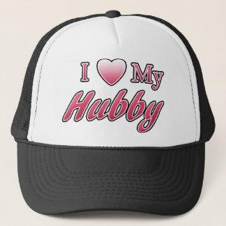 I Love My Hubby Trucker Hat