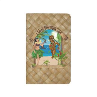 I Love My Hula Girl Tiki Journal