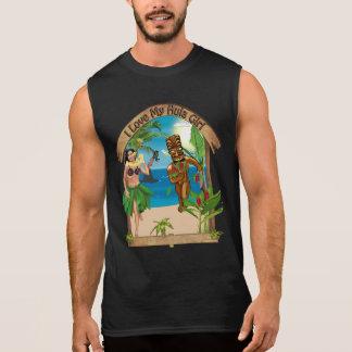 I Love My Hula Girl Tiki T-Shirt