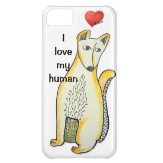 I love my human iPhone 5 Barely Universal Case