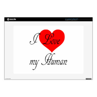 I love my Human Laptop Decals