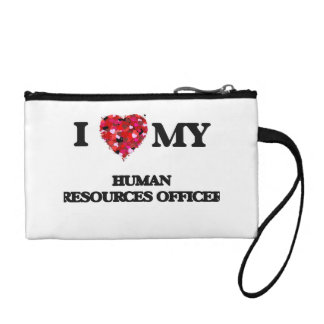 I love my Human Resources Officer Coin Wallet