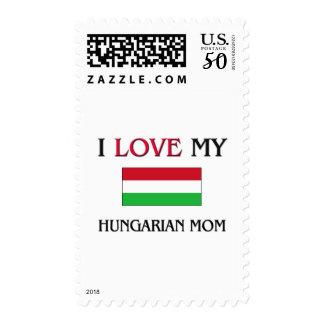 I Love My Hungarian Mom Postage