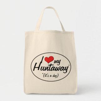 I Love My Huntaway (It's a Dog) Bag