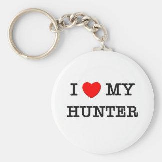 I Love My HUNTER Keychain