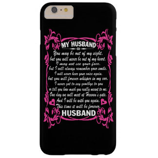 I love my husband barely there iPhone 6 plus case