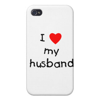 I Love My Husband Case For iPhone 4