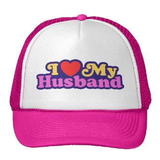 I Love My Husband Mesh Hats