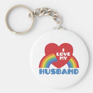 I Love My Husband Key Chains