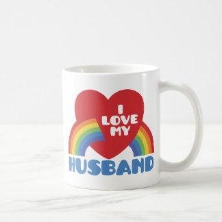 I Love My Husband Mugs