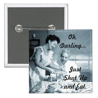 I Love My Husband! Pinback Button