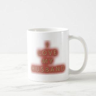 I Love My Husband (White) Mug