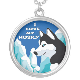 I love my Husky Necklace