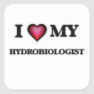 I love my Hydrobiologist Square Sticker
