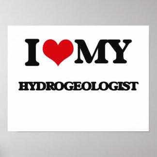 I love my Hydrogeologist Poster