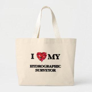 I love my Hydrographic Surveyor Jumbo Tote Bag