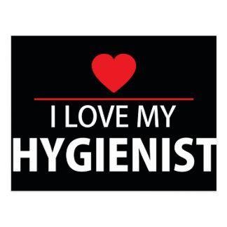 I Love My Hygienist Postcard