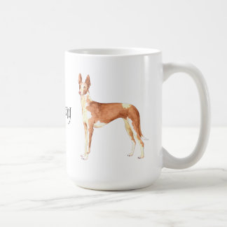 I Love my Ibizan Hound Classic White Coffee Mug