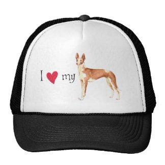 I Love my Ibizan Hound Trucker Hat