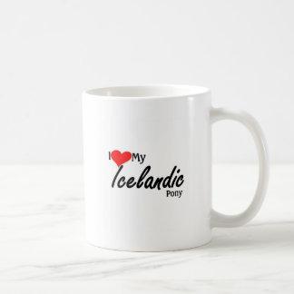 I love my Icelandic Pony Coffee Mug