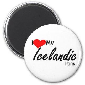 I love my Icelandic Pony Refrigerator Magnets