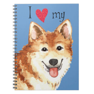 I Love my Icelandic Sheepdog Notebook