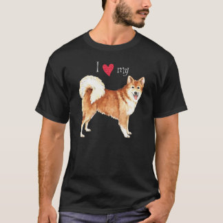 I Love my Icelandic Sheepdog T-Shirt