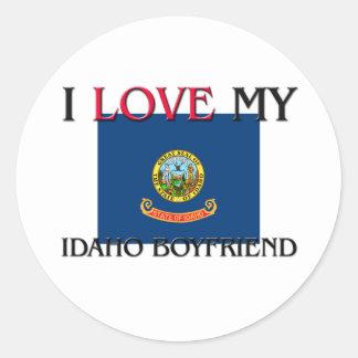 I Love My Idaho Boyfriend Stickers