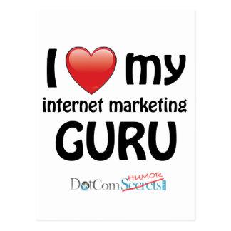 I Love My IM Guru Postcard