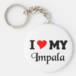 I love my Impala Keychains