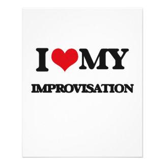 I Love My IMPROVISATION Flyer