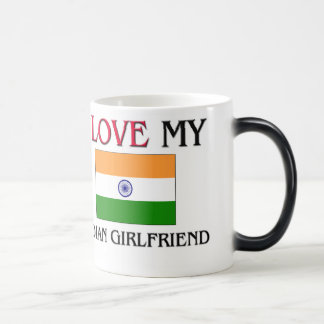 I Love My Indian Girlfriend Coffee Mugs