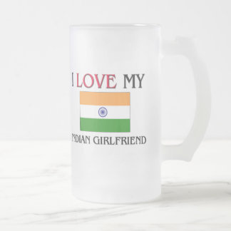 I Love My Indian Girlfriend Mugs